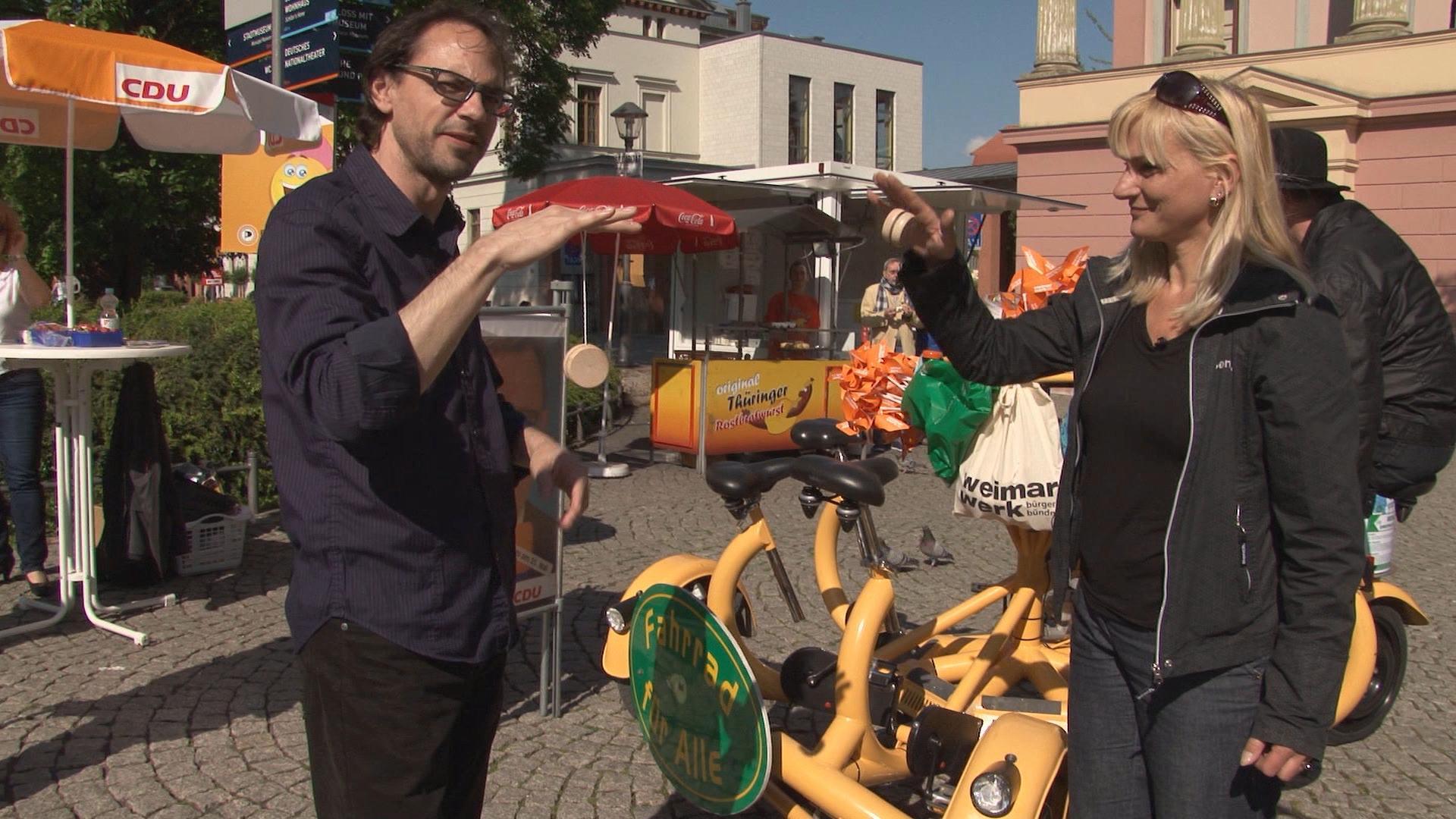 Die Wirtin vom Schwanseeschlösschen – Weimarleben 2015