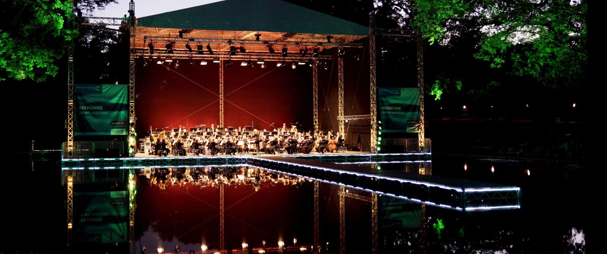 Konzertnacht Weimarhallenpark